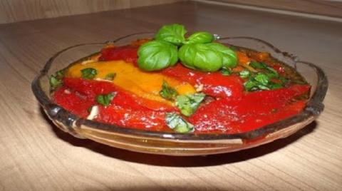 Очаровательная итальянская закуска из паприки
