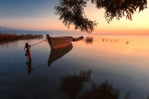 Рассвет на Плещеевом озере, …