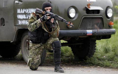 Запорожские партизаны атаковали колонну нацгадов, отступающих из Мариуполя