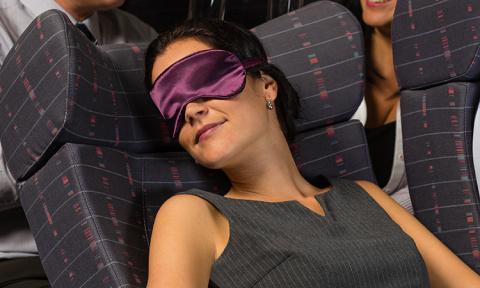 Никогда не спите в самолете