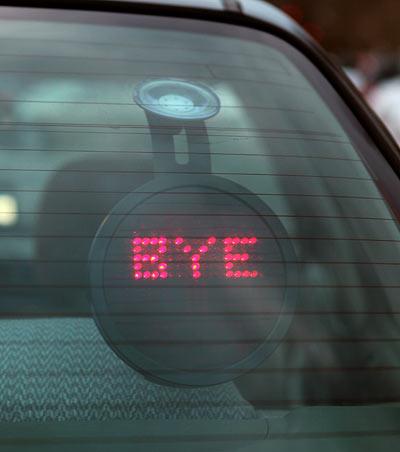 Как водителю показать свои эмоции