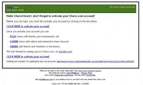 Как зарегистрироваться на шахматном портале Chess.com