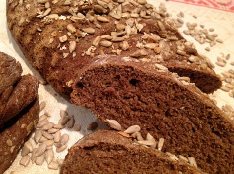 Очень полезный хлеб из льняной муки