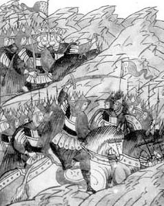 Страшная сеча на Липице - русские против русских