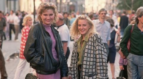 Это были 90-е. Мы одевались,…
