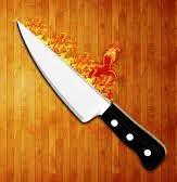 Как сделать горячий нож свои…