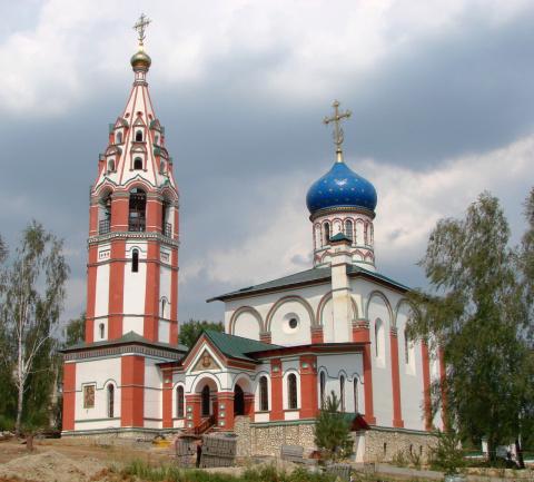 Храм иконы Божией Матери Скоропослушница пос. Чурилково