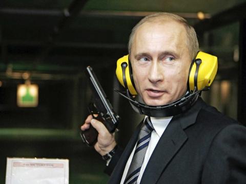 Как Путин успокаивал итальянских журналистов!