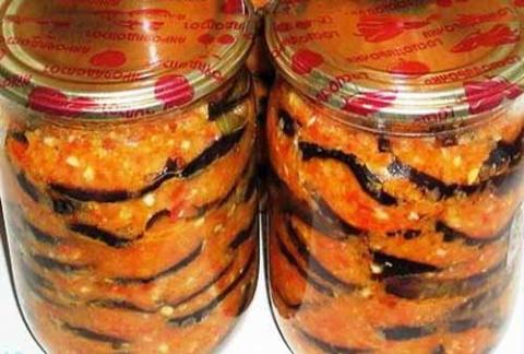 баклажаны закуска кобра