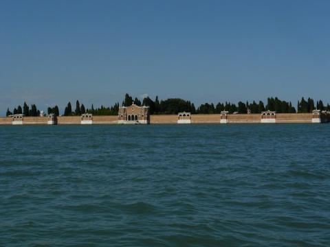 Кладбище на острове