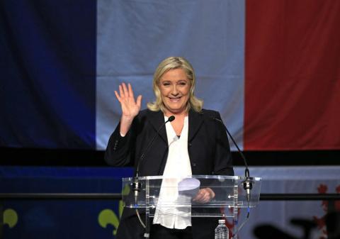 Марин Ле Пен стала победителем первого тура выборов в регионах Франции