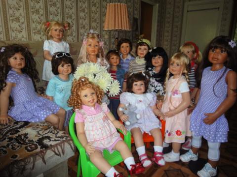 Моя кукольная семья