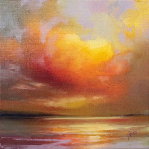 Взрыв цвета среди облаков: шотландские пейзажи Scott Naismith