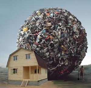 Выбросьте мусор из  дома и из жизни