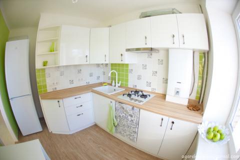 Кухня в хрущевке: варианты оформления, выбор планировки, советы дизайнеров