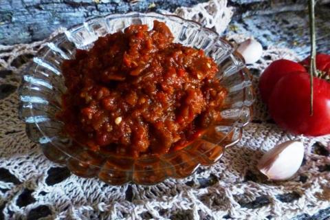 овощная закуска пинджур рецепт приготовления