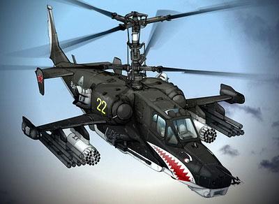 Ударный вертолёт Ка-50 «Чёрн…