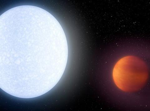 О Вселенной нашей. Самая горячая планета