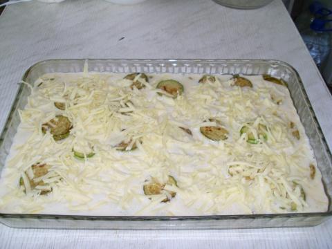 Омлет из кабачков