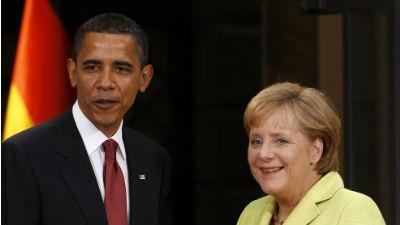 Меркель и Обама обсудили шпионский скандал