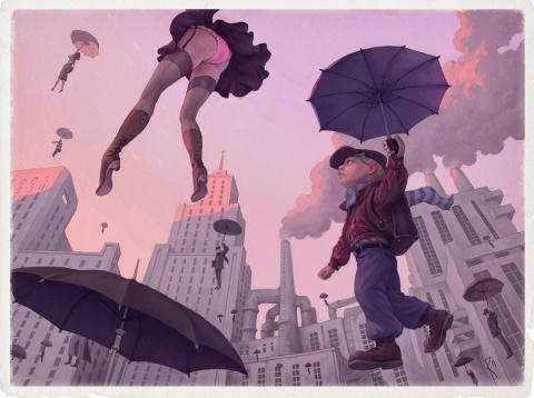 Реальная жизнь в иллюстрациях Вальдемара Казак