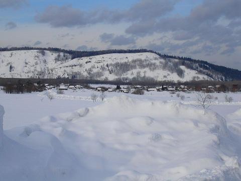 Сибирская деревенька
