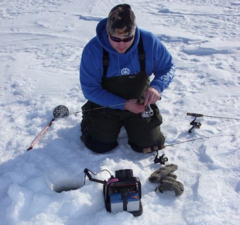 Камеры для подледного лова