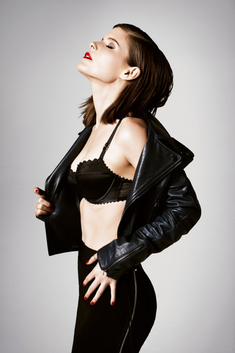 Кейт Мара (Kate Mara) в фотосессии Брука Нипара (Brooke Nipar) для журнала GQ UK (февраль 2014)