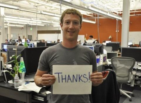 Цукерберг: Facebook блокирует украинские посты за их агрессию и призывы к насилию
