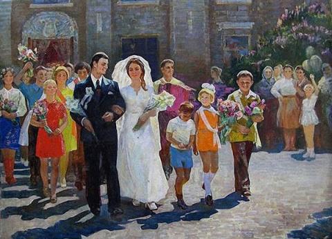 Ностальгия по соцреализму. Свадьба