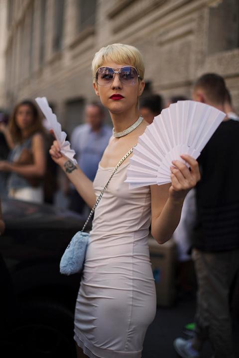 On the Street…Keeping It Cool, Milan