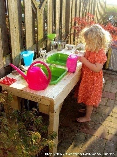 Кухонный уголок для детей своими руками