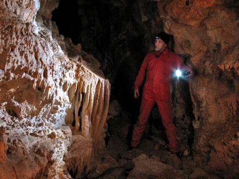 я в пещере