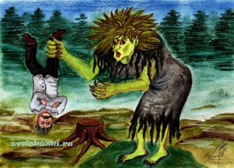 Кикимора (персонаж восточнославянской мифологии)