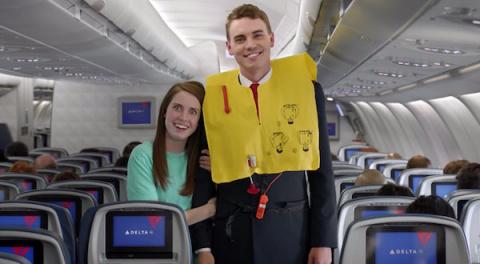 Delta Air выпустила сборник мемов