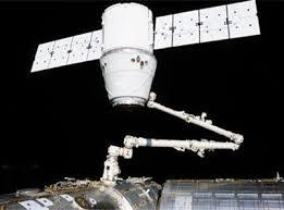 Космический корабль space dragon: возвращение на землю