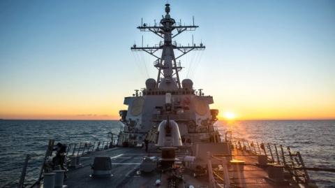 В России отреагировали на базу американских ВМС на Украине