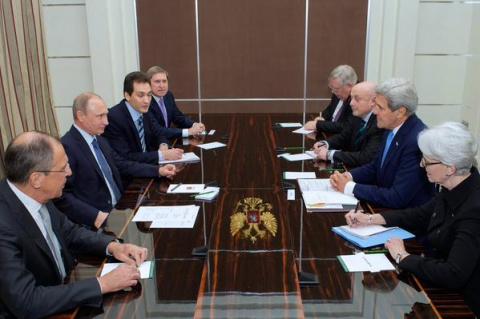 Керри рассказал об откровенных разговорах на встрече с Путиным