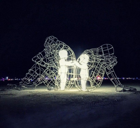 Очень трогательная инсталляция! Обязательно к просмотру