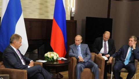 Главу Финляндии возмутил вопрос о недовольстве его встречей с Путиным