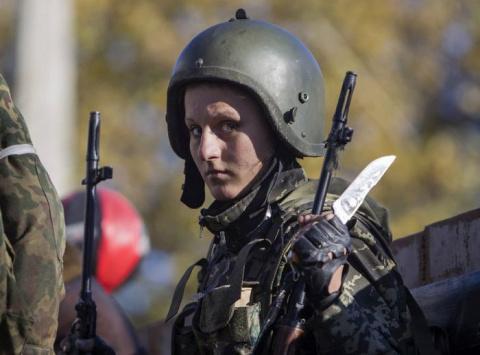 Жительница Донецка рассказал…
