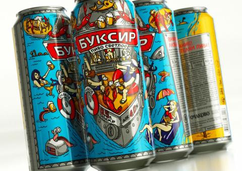 «Очаково» выпустило пиво в необычной упаковке