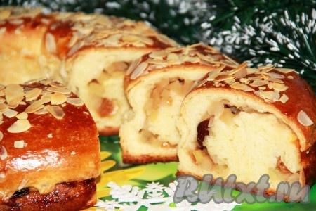 Рецепт яблочного пирога из д…
