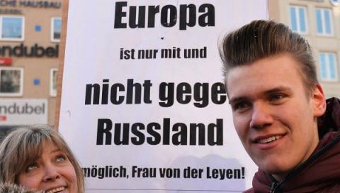 Германский публицист: немцы больше не верят в антироссийскую чушь