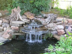 НАША ДАЧА. Как сделать водопад на даче?