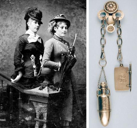 Мода из прошлого: Викторианский шатлен