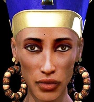 Весьма интересно — как могли выглядеть Нефертити или Николай Угодник