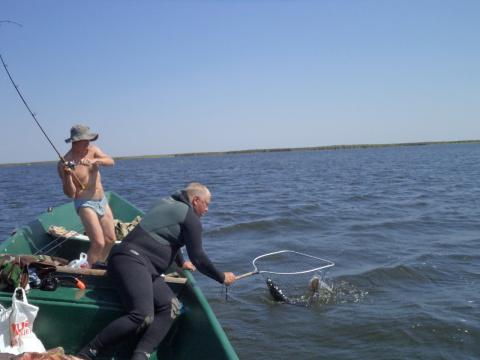 Взято! Рыбалка в раскатах 08. 2012г
