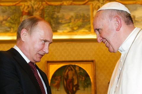 Путин едет в Ватикан