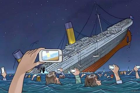 Заметка с Титаника